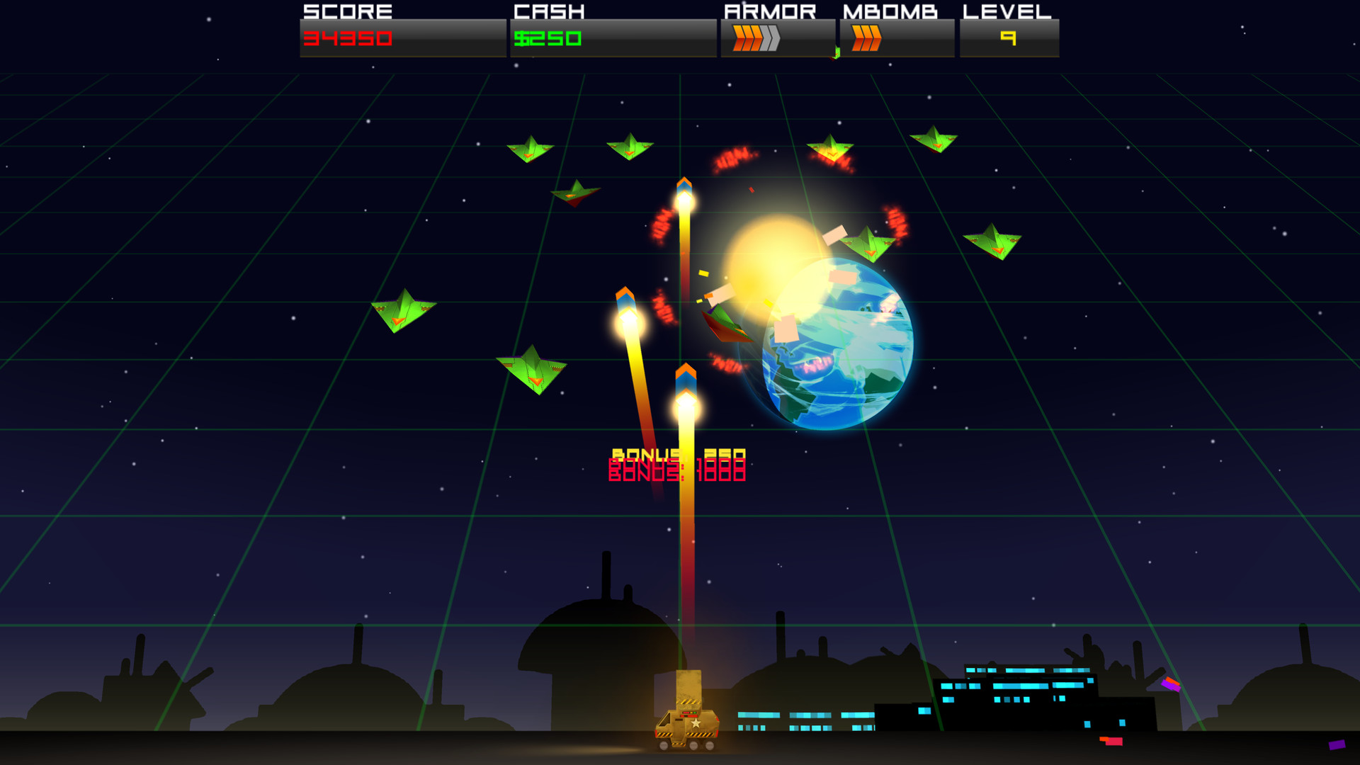 Cosmic Rocket Defender (Steam Key, Region Free)