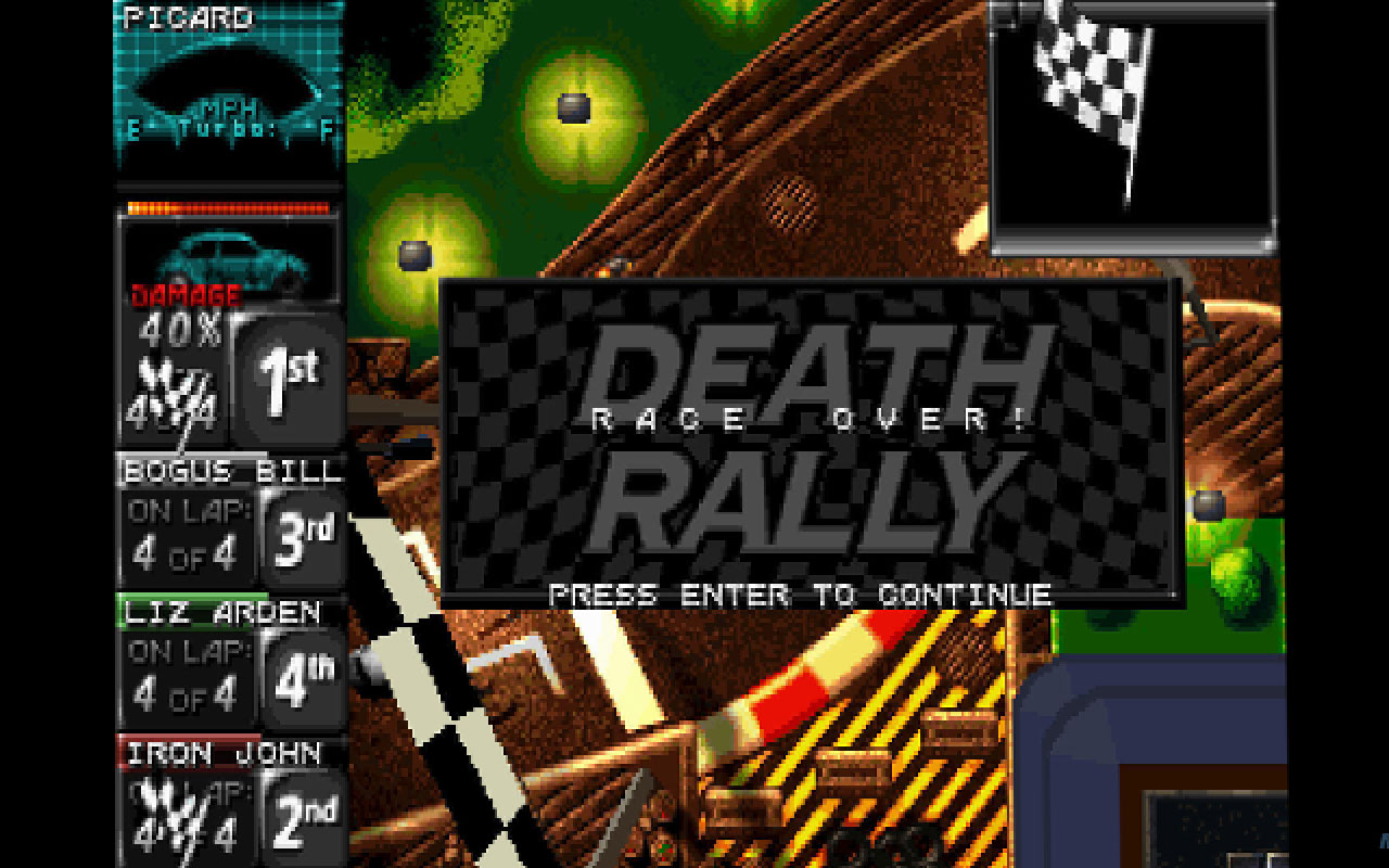 Death Rally (Classic) (Steam Key, Region Free)