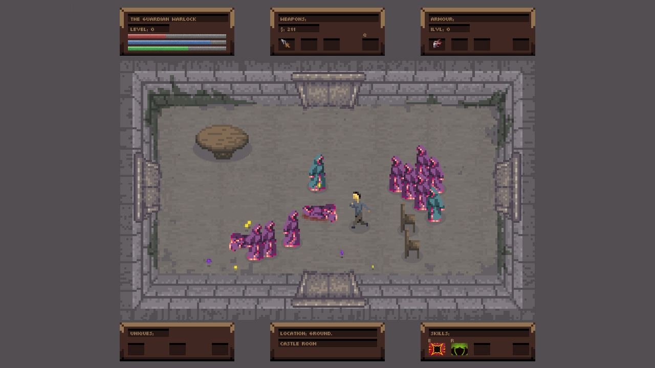 No Turning Back: Pixel Art Action-Adventure Roguelike