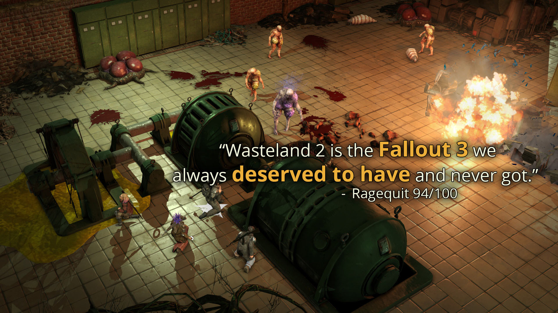 Wasteland 2: Director´s Cut - Classic (Steam Key, ROW)
