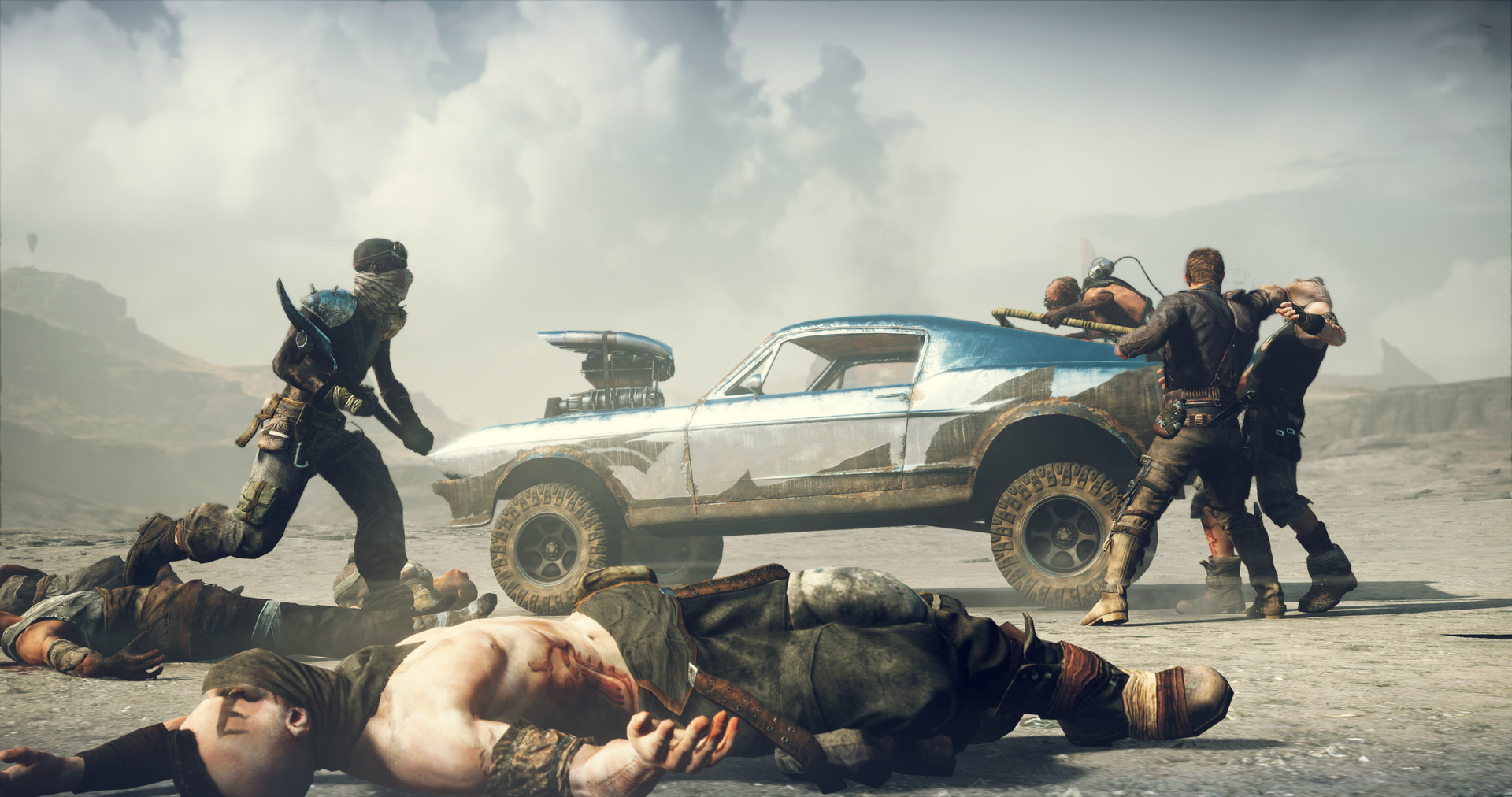 Скриншот  3 - Mad Max (Steam Key)