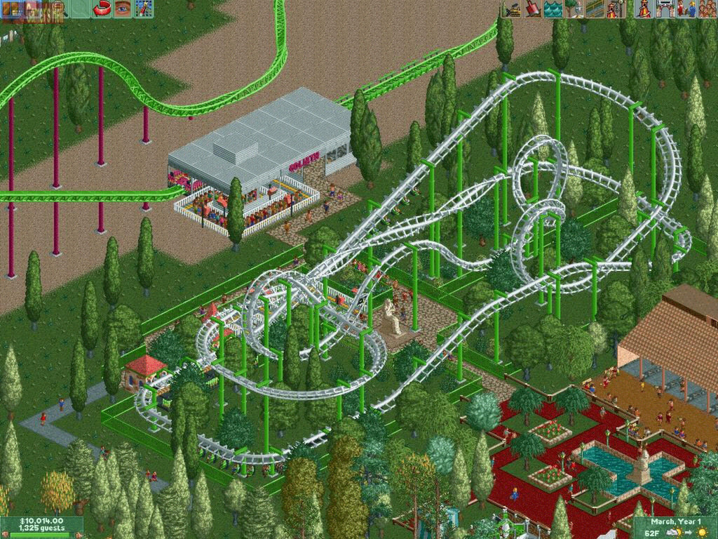 RollerCoaster Tycoon 2: Triple Thrill Pack (Steam, ROW)