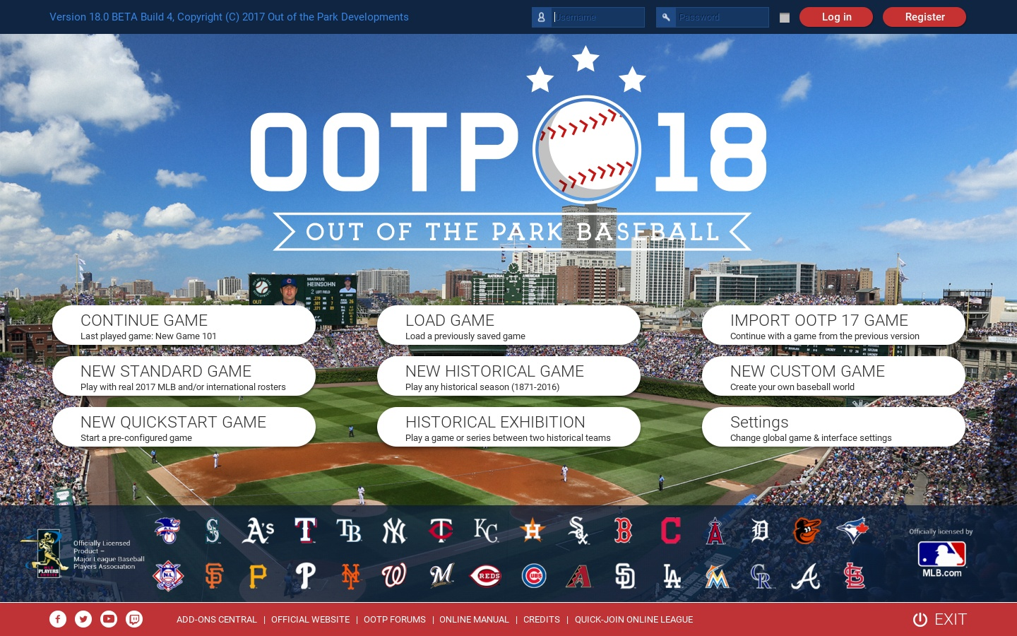 Out of the Park Baseball 18 (Steam Key, GLOBAL)