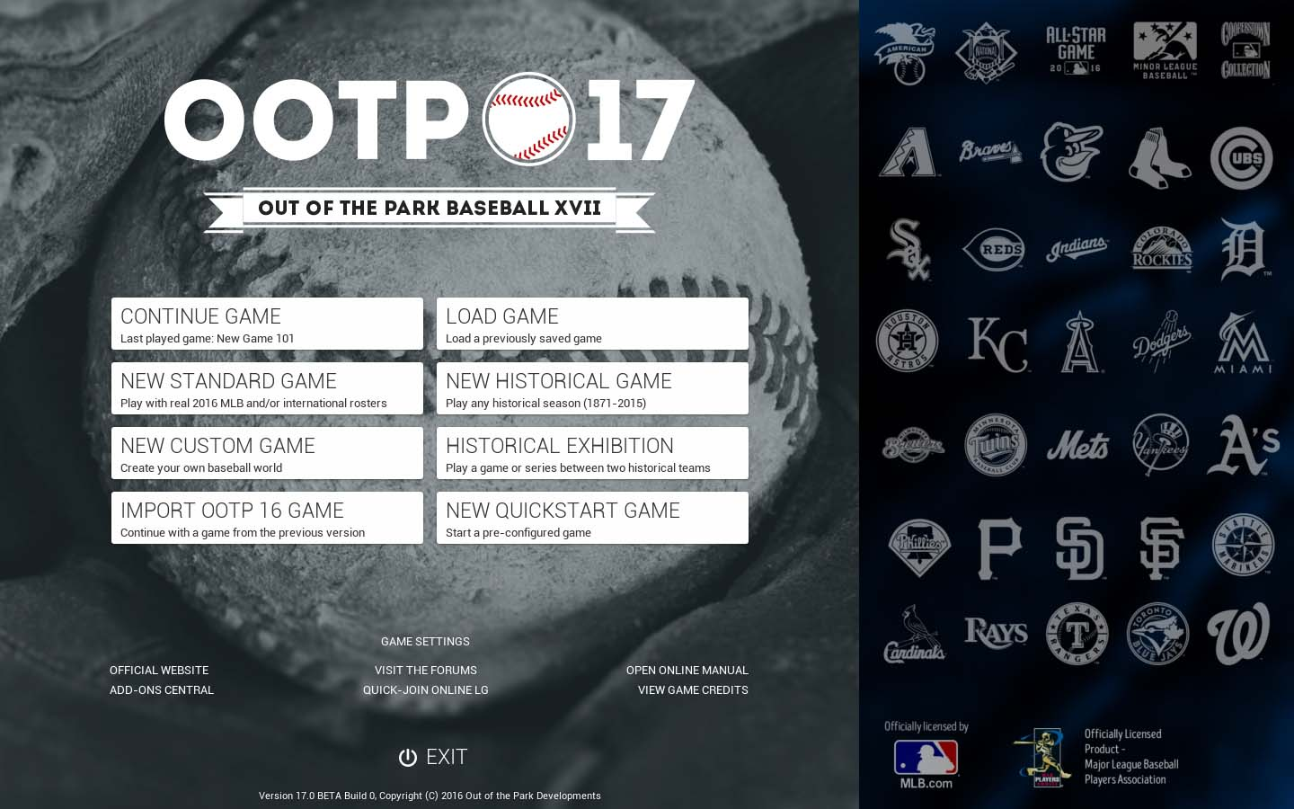 Out of the Park Baseball 17 (Steam Key, GLOBAL)
