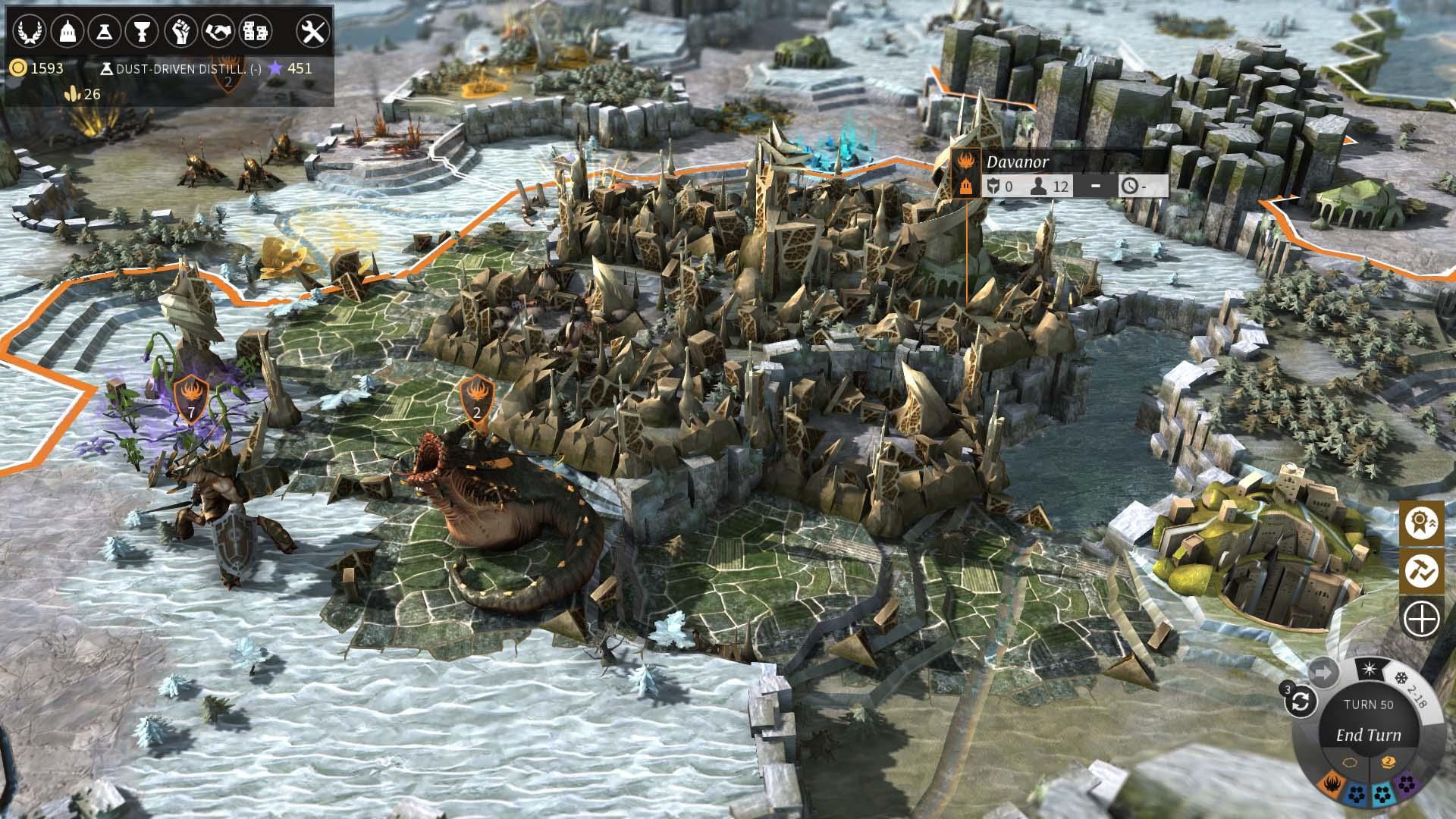 Скриншот  4 - Endless Legend — Classic Edition (Steam Key GLOBAL)