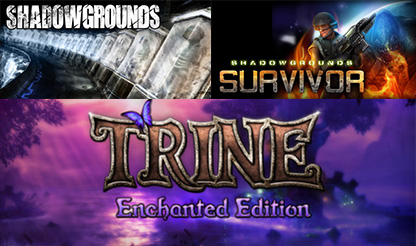 Shadowgrounds+Shadowgrounds Survivor+Trine (Steam Key)