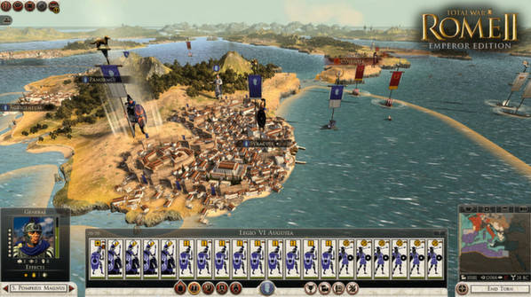 Total War: ROME II - Emperor Edition (Steam Key,RU+CIS)