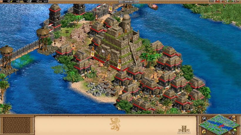 Age of Empires II HD + The Forgotten Expansion (RU+CIS)