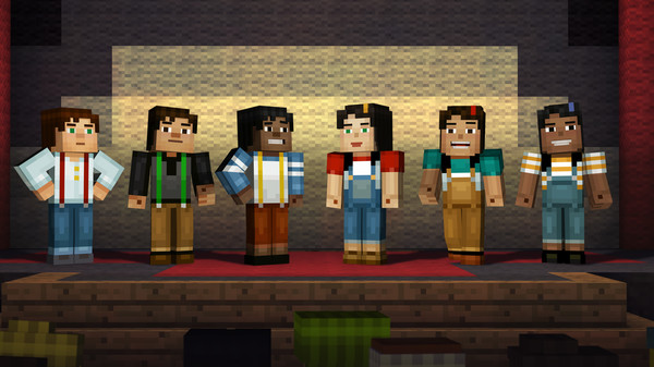 Minecraft: Story Mode - A Telltale Games Series Steam