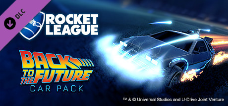 Rocket League - Back to the Future Car (Steam Gift RU)