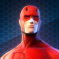 MARVEL HEROES OMEGA - DAREDEVIL ( hero )