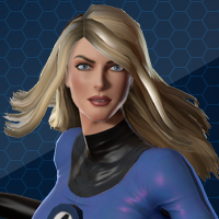 MARVEL HEROES OMEGA - INVISIBLE WOMAN  ( hero )