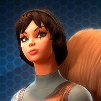 MARVEL HEROES OMEGA Герой ДЕВУШКА-БЕЛКА / SQUIREL-GIRL