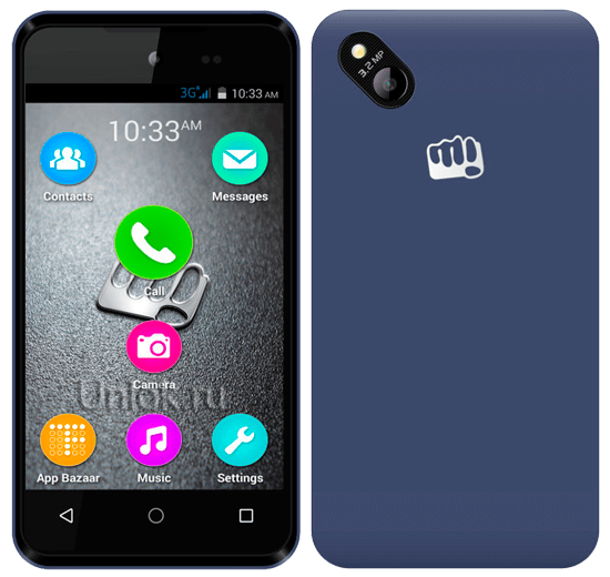 Unlocking Micromax Bolt D303 code
