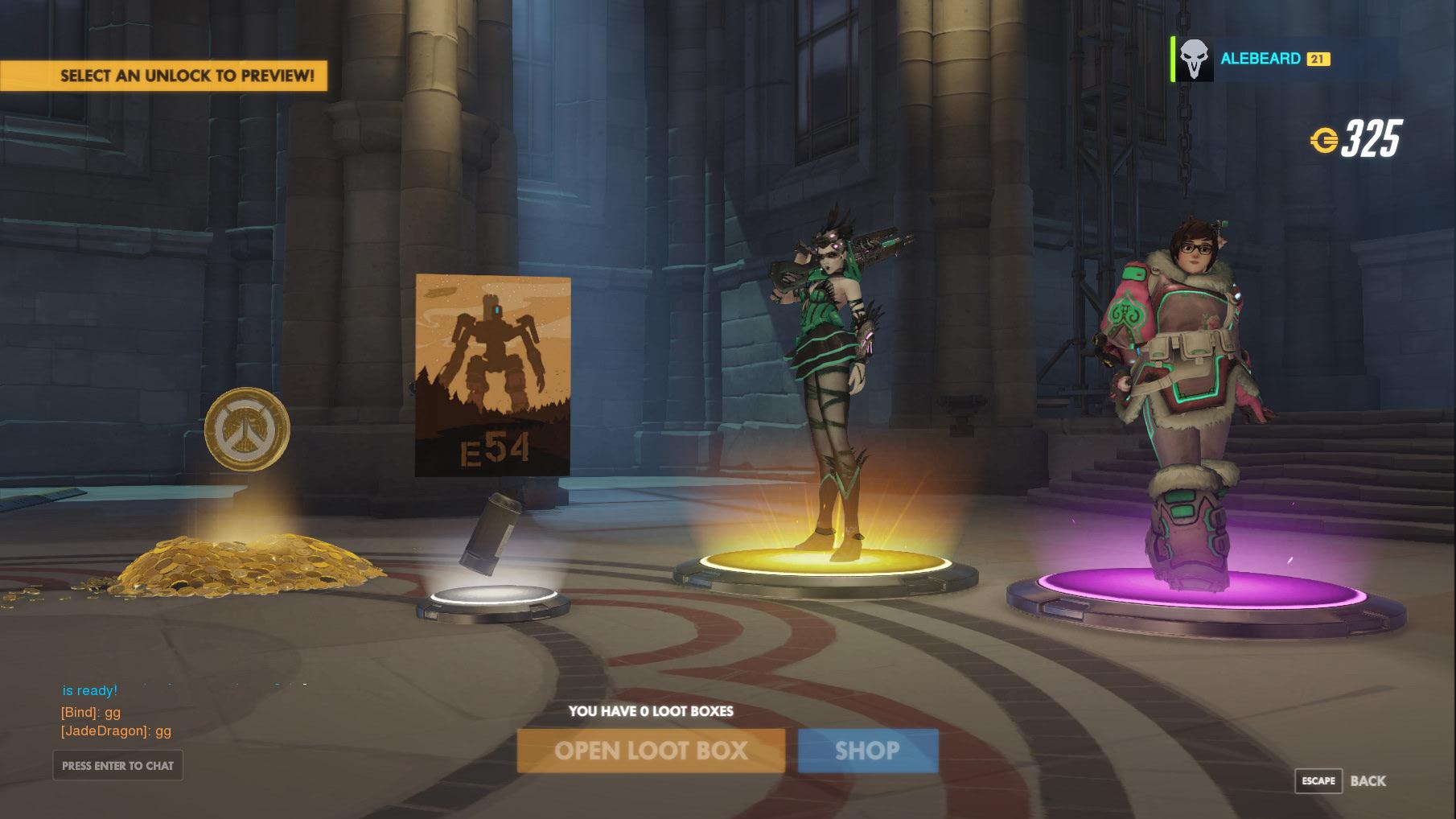2x Overwatch Loot Box [Gift link | Battle.net] 2019