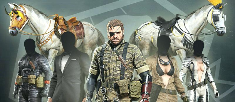 METAL GEAR SOLID V: The Definitive Experience DLC ROW 2019