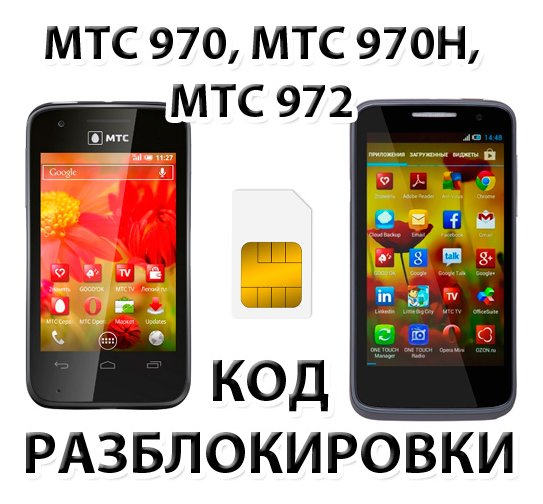 UNLOCK Alcatel MTS 970 970h 972