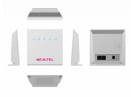 Unlock Altel CPE P05 and 4G CPE router R0516. The code