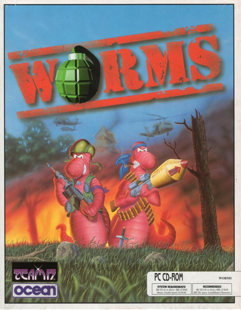 Worms Steam Key / ROW / Region Free