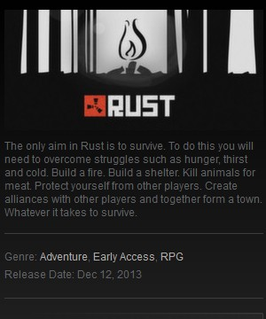 Rust (Steam gift / Region free / Row) Early Access + Discounts