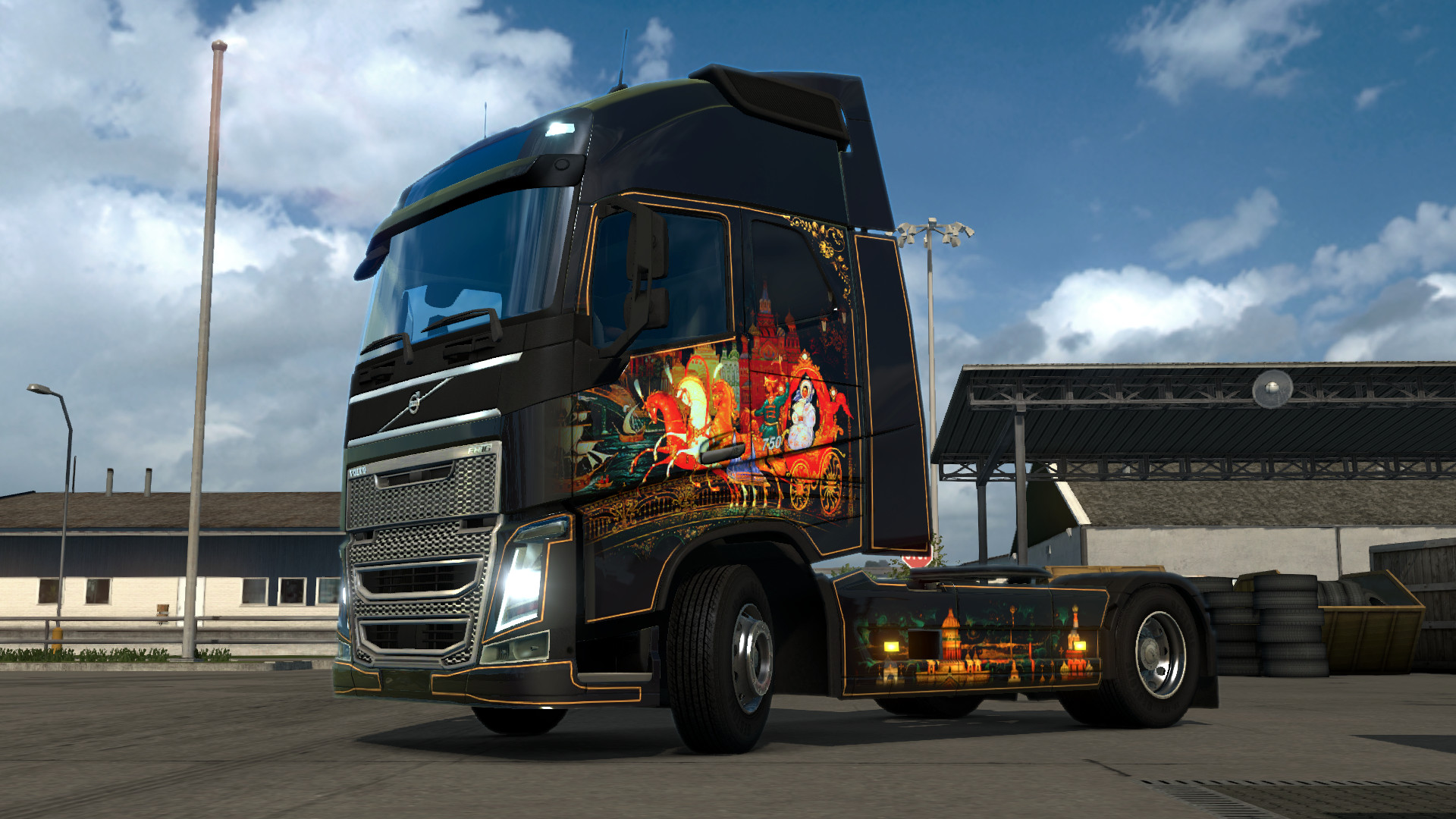 Euro Truck Simulator 2 Russian Paint Jobs Pack |Gift,Ru