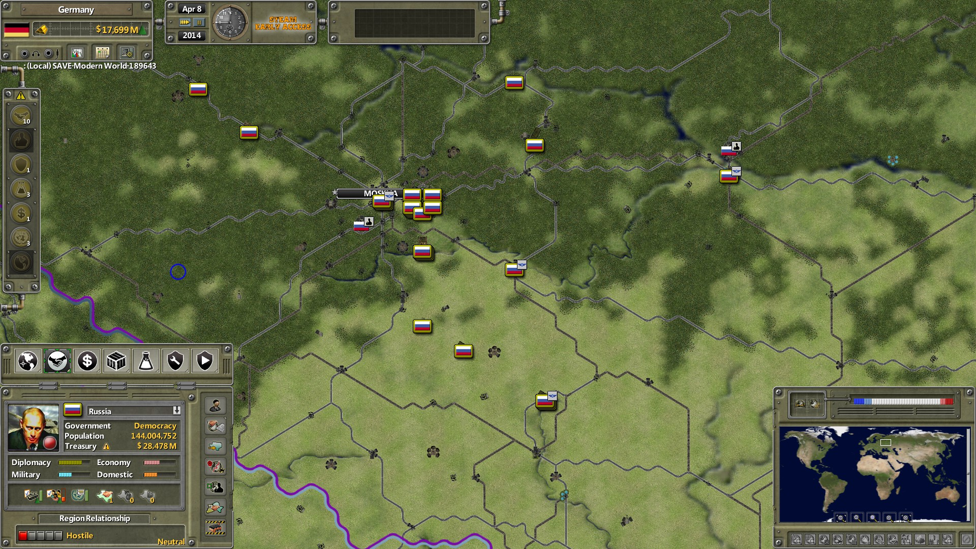 Supreme Ruler 1936 (Steam Gift, RU+CIS)