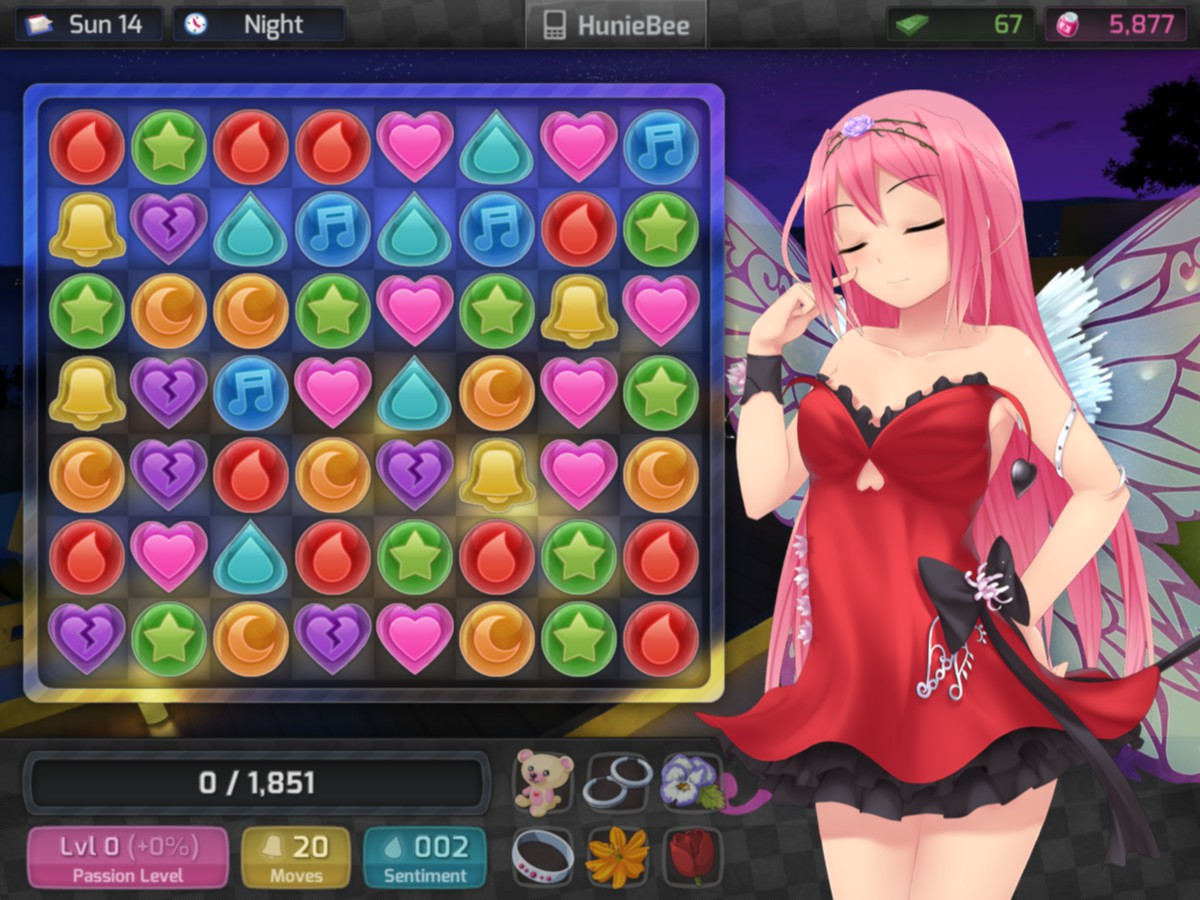 HuniePop (Steam Gift, only RU)