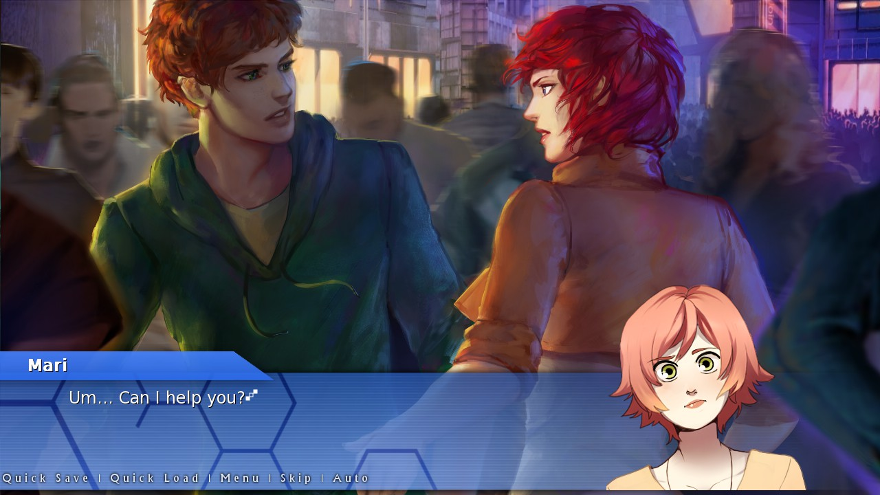 Orion: A Sci-Fi Visual Novel (Steam KEY, Region Free)