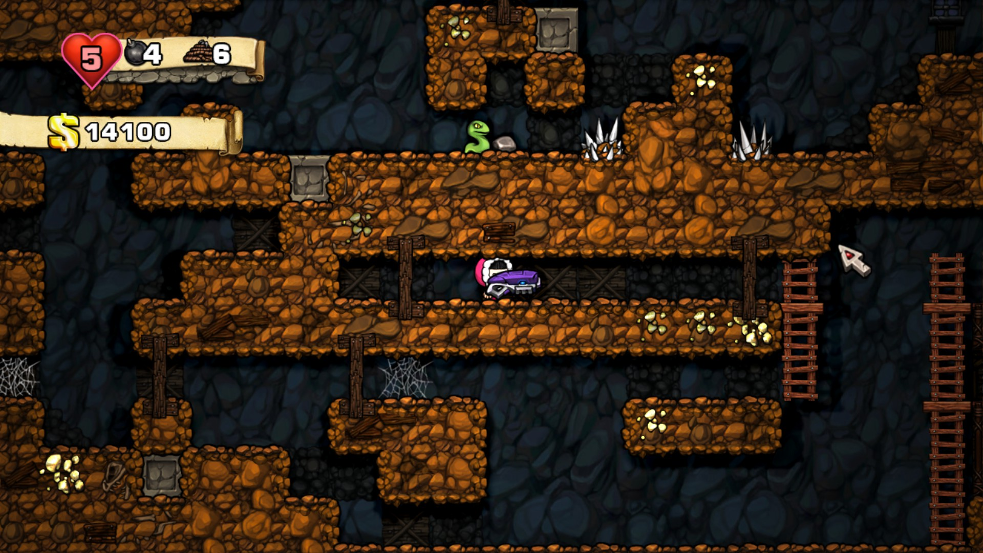 Spelunky (Steam KEY, Region Free)