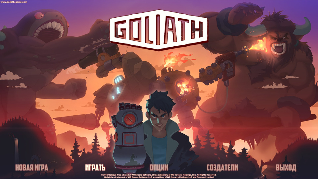 Goliath (Steam Gift, RU+СНГ)