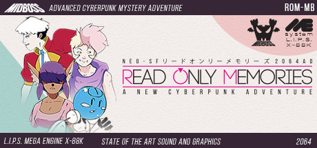 Read Only Memories (Steam KEY, Region Free)