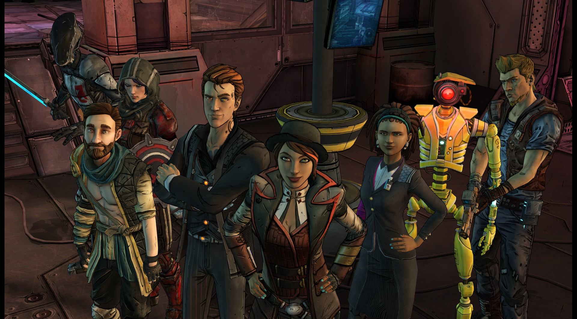 Tales from the Borderlands (Steam Gift, RU+CIS)