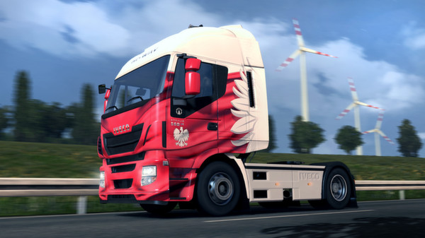 Euro Truck Simulator 2 - Polish Paint Jobs Pack Gift RU