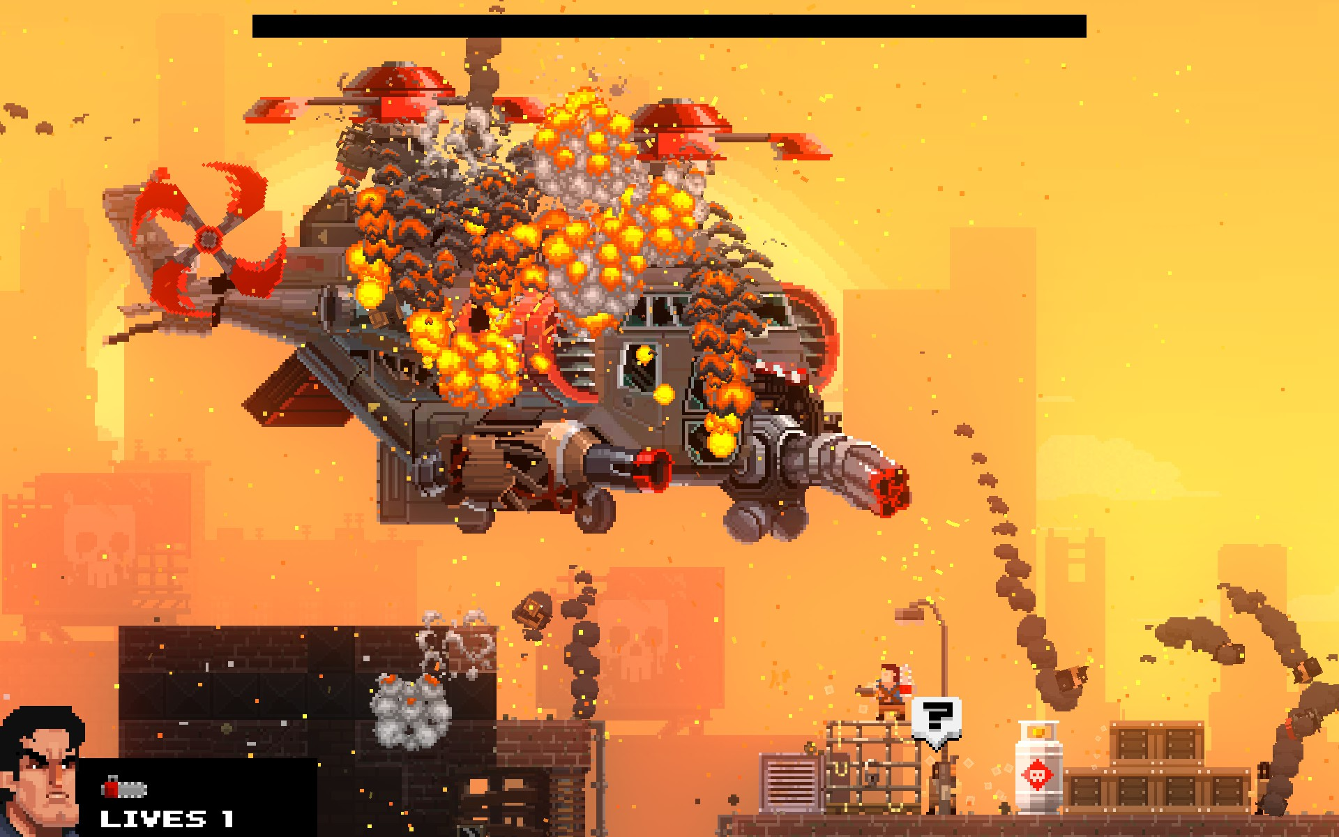 Broforce (Steam KEY, Region Free)