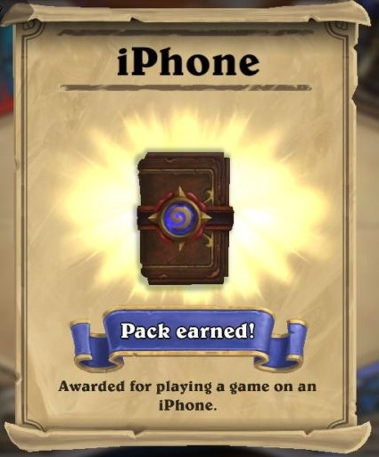 how to give hearthstone packs as gift