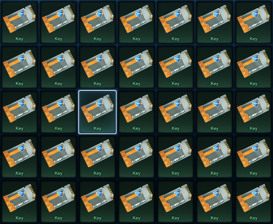 Key for crates in Rocket League