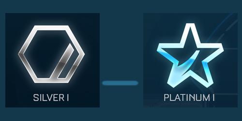 Rocket League Boosting 1v1\2v2 (Silv to Plat) [Steam] 2019