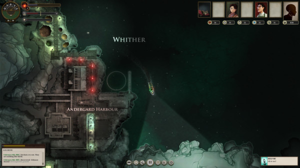 SUNLESS SEA (Steam Gift | ROW | Region Free) Early Access
