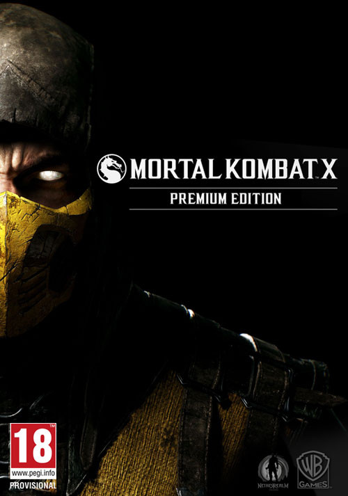 Mortal Kombat X PREMIUM EDITION (STEAM KEY REGION FREE)