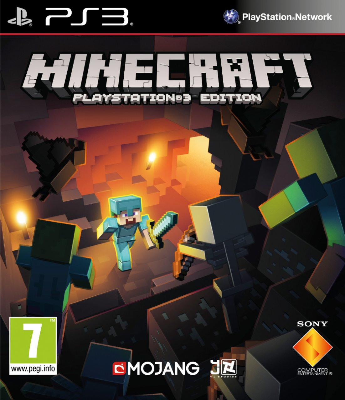 Minecraft PS3 CODE \ KEY PSN (RU \ EU \ UK)