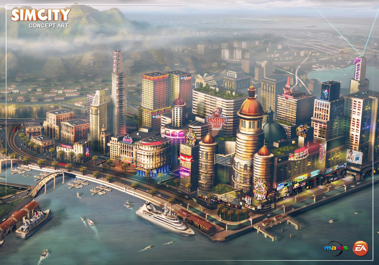 SimCity 2013 (Origin Key) REGION FREE \\ MULTILANGUAGE