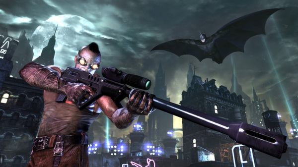 Batman: Arkham City GOTY (Steam Gift \\ Region FREE)