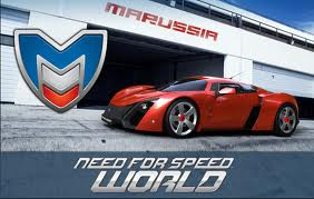 Need For Speed \u200b\u200bWorld (PHOTOS code Marussia B2)