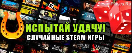 Случайный Steam  (CS:GO, CS, DAYZ и т.п.)