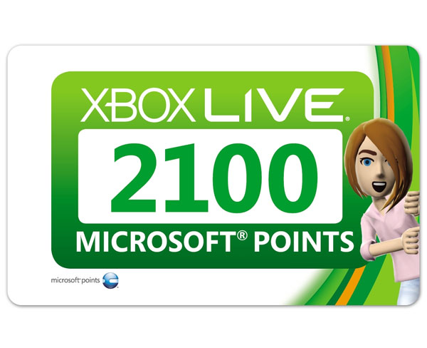 XBOX LIVE 2100 points (XBOX 360 / ONE) EU / RU SCAN