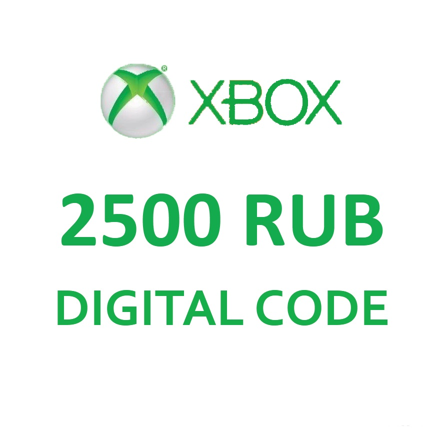 Xbox Live - Payment card 2500 rubles (RU)