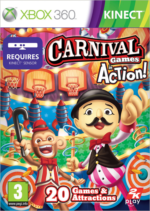 Carnival Games+Kinect Party xbox 360