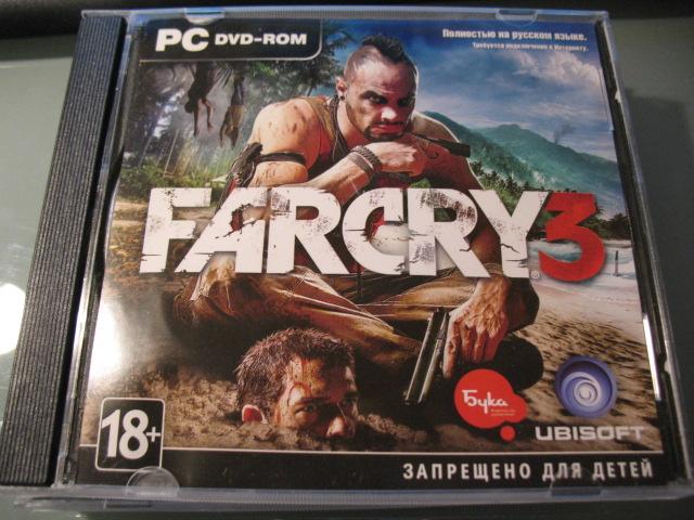 Far Cry 3 (Buka) license activation key to Uplay
