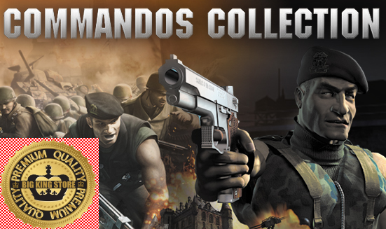 Commandos Collection - STEAM GIFT — [REGION FREE] — Row