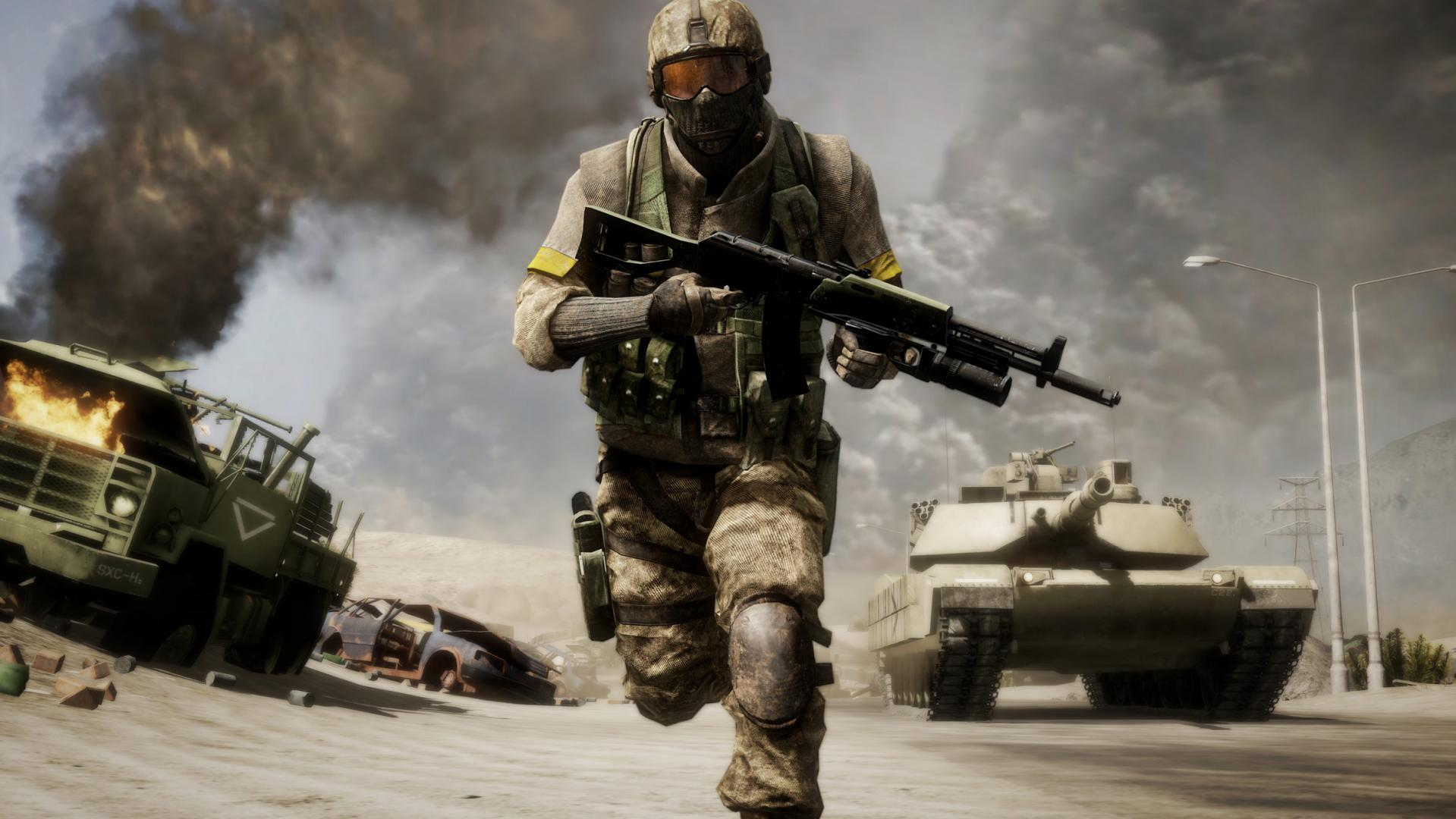 Battlefield: Bad Company 2 (Steam Gift RU+CIS)